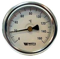 Термоманометр осевой WATTS TIM80 0-120° 1/2. 4 бар