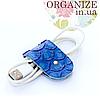 Зажим для кабелей Gato Negro (голубой)
