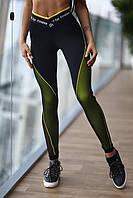 Леггинсы для фитнеса Pro High-waist Beat, фото 1