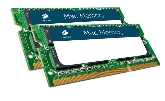 Память для ноутбука Apple Macbook pro Corsair 16GB Kit 2x8GB DDR3 1600 MHz (PC3-12800) 204p SODIMM, фото 1