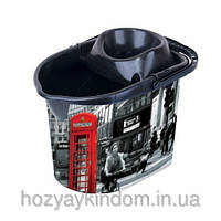 Ведро с отжимом для МОП Лондон Elif