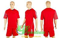 Форма футбольная без номера CO-3109-R (р-р M, L, XXL, красный, шорты красные)