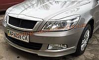 Реснички на Skoda Octavia A5 2009-