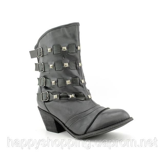 Женские стильные  сапоги на небольшом каблуке  Not Rated Daring