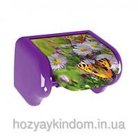 Держатель для туалетной бумаги Цветы и бабочки Elif