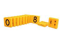 Цифры на ошейник для КРС (45х45мм)