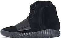 Женские кроссовки Adidas Yeezy Boost 750 Blackout, адидас, изи буст