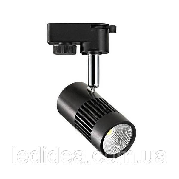 Трековый светильник LD836 8W ЛЕД 4200K (білий,чорний,сірий), фото 1