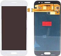 Дисплей (экран) + сенсор (тач скрин) SAMSUNG Galaxy J2 SM-J200H white (оригинал)