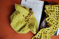 Желтая шапочка и шарфик