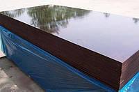 Фанера для опалубки водостойкая ламинированная ФСФ 2500х1250х21 мм гл/гл бакелитовая Китай