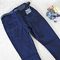 Джинсы- брюки для ДЕВОЧКИ  6-9 лет. Zeiser, Турция. Джинсы для школьниц, школьные джинсы.