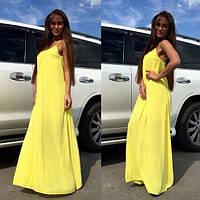 Шифоновое платье макси, фото 1
