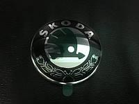 Skoda Octavia A5 2006-2010 гг. Эмблема (79мм) Оригинал