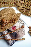 Коричневая шапочка и шарфик