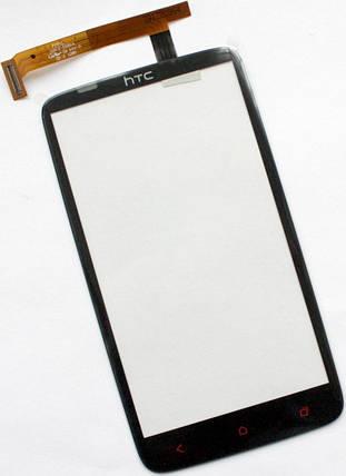 Сенсор HTC One X+ S728e black (оригинал), тач скрин для телефона смартфона, фото 2