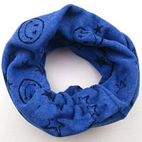 Трикотажный шарф снуд