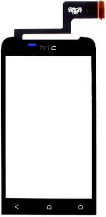 Сенсор HTC One V T320e, G24 black (оригинал), тач скрин для телефона смартфона, фото 2