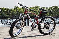 Электровелосипед BMW X6 Electric Rear Drive Красно-белый