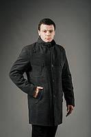 Пальто мужское из кашемира Дэн серый