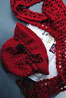 Модная красная шапочка и шарфик