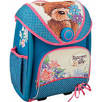 """Рюкзак школьный Kite 505 Popcorn Bear """"Трансформер"""" для девочек"""