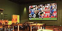 """Футбол на большом 100"""" экране - проекционный комплект для бара, кафе, ресторана"""