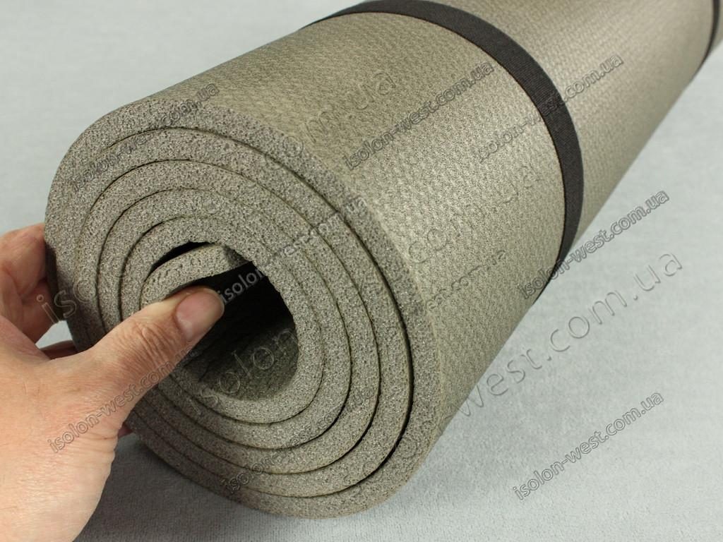 Коврик для йоги и фитнеса Поход 10, размер 100 х 180 см, толщина 10 мм.