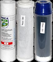Комплект Картриджей для проточных систем очистки воды РОСА 574