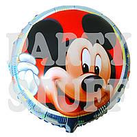 Фольгированный шар Микки Маус голубой, 44 см
