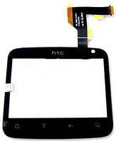 Сенсор (тач скрин) HTC A810e ChaCha black (оригинал)
