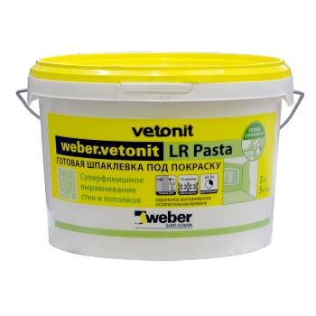 Шпатлевка Weber Vetonit LR Pasta, 20 кг