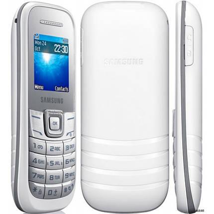 Мобильный телефон Samsung E1202 White(Dual Sim), фото 2