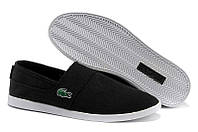 Слипоны Lacoste Slip On Black