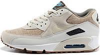 Мужские кроссовки Nike Air Max 90 Premium Crepe, найк, аир макс
