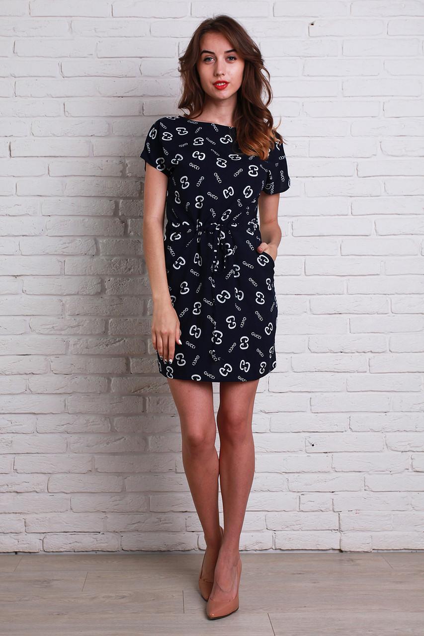 7becf5c9984bb28 Модное молодежное платье на каждый день из штапеля с поясом, цена 280 грн.,  купить в Хмельницком — Prom.ua (ID#330607174)