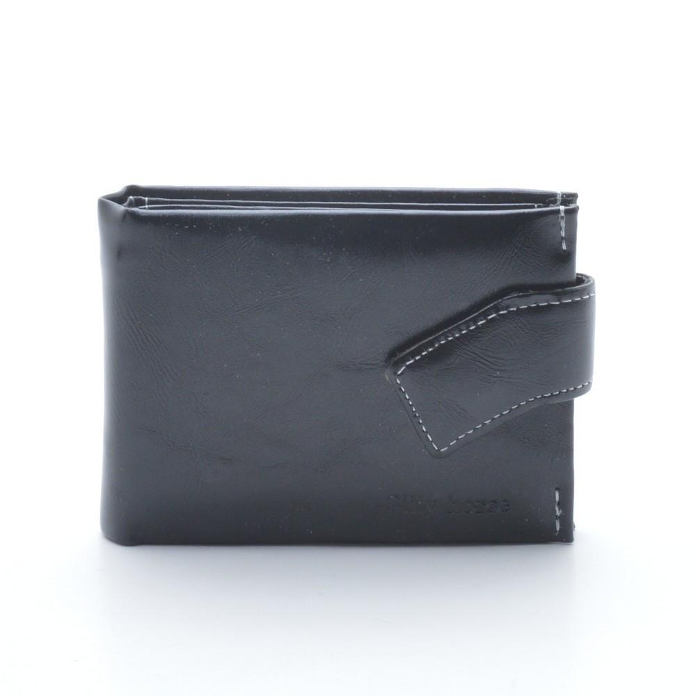 Стильный кошелек черного цвета. Отличное качество. Практичный и удобный кошелек. Купить сейчас. Код: КДН384