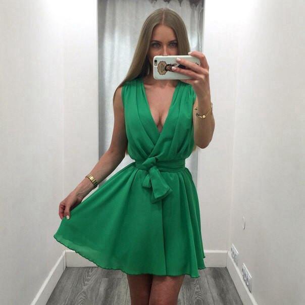 Купить расклешенное летнее платье