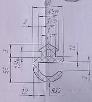 KMD.46.Уплотнитель в притвор под окно