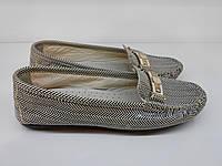 Мокасины женские кожаные, фото 1