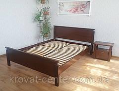 """Кровать  """"Падини"""" (200*200см.), массив - сосна, ольха, береза, дуб., фото 3"""