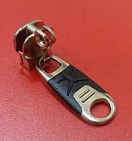 Бегунок №10 для чемодана с двойным крючком НН-3209 никель