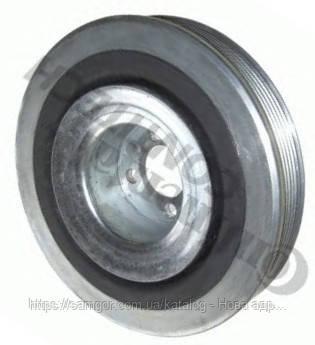 Шкiв колiнвалу Fiat Doblo 1,9 D з конд. - 1,9 JTD (2000-2012) - Самгор - запчастини для Opel Combo та Fiat Doblo в Киеве