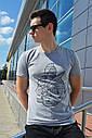 Мужская футболка серая ТУР Spartacus, фото 5