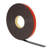 Лента 3М 5952, темно-серая, 19мм х 33м х 1,1мм, высокая адгезия, для сложных поверхностей, 150/120 °С