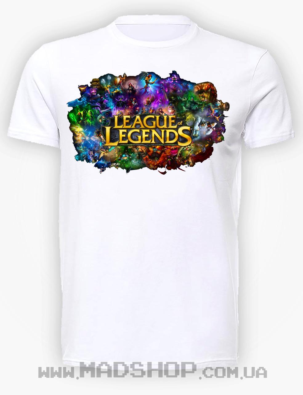Футболка Лига Легенд League of Legends
