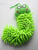 Детское полотенце-игрушка из микрофибры, лягушка