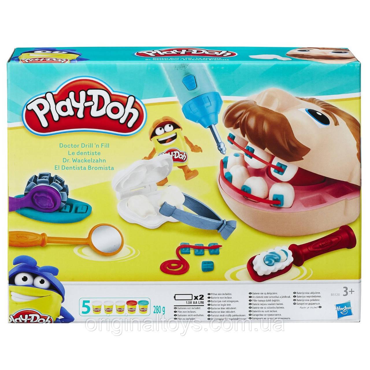 Игровой набор Play Doh Мистер Зубастик (2016) Hasbro B5520