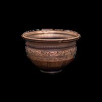 Горшок глиняный (макитра) Шляхтянский AA04 Покутская керамика 3 литра