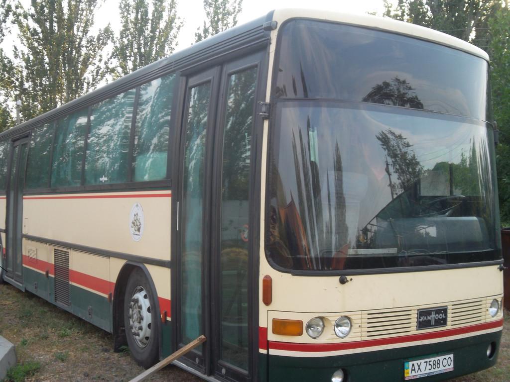 Замена лобового стекла на автобусе Van Hool Alizee 23